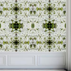 Azalea Perspective wallpaper - wainscoting